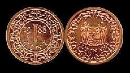 1 cent 1987-1989 (km 11b)