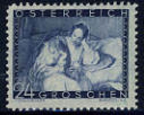 Mother day 1v; Year issue: 1935