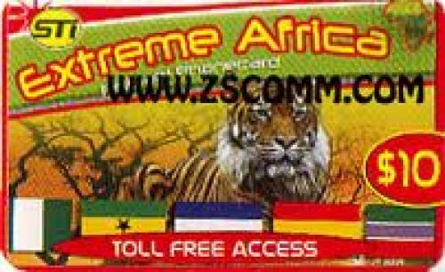 Extreme African Phone Card