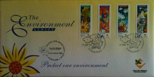 Singapore FDC - The Environment Series