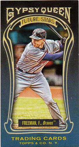 2011 Topps Gypsy Queen Future Stars Mini #FS4 ~ Freddie Freeman