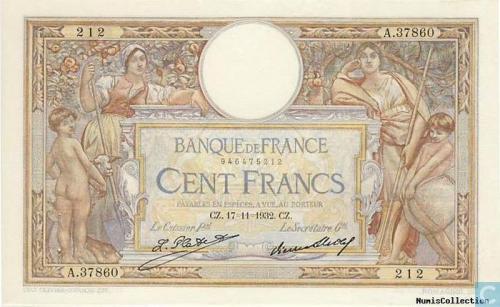 France 10 Francs 1923-1937