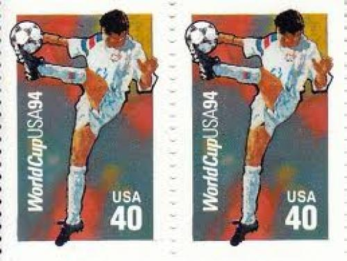 Stamps; U.S.A Worlcup 1994; 40 cents