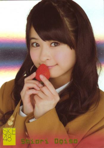 SKE48 JAPANEDE IDOL TRADING CARD SHIORI OGISO #S14 SP HOLO