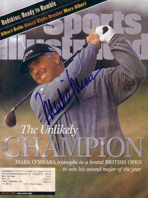 Mark O&#039;Meara autographed 1998 British Open Champion Sports Illustrated