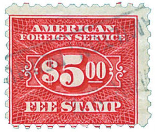carmine, fee stamp