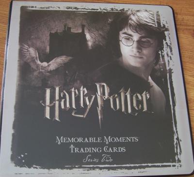 Harry Potter Memorable Moments Series 2 album or binder