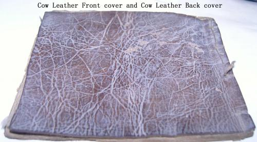 cow Leather covered medical books