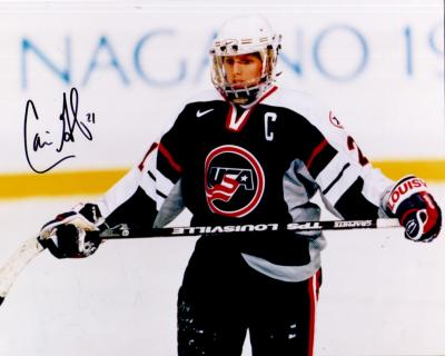 Cammi Granato autographed 1998 USA Hockey 8x10 photo