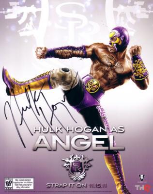 Hulk Hogan autographed 8x10 promo photo