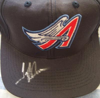 Troy Glaus autographed Anaheim Angels replica cap