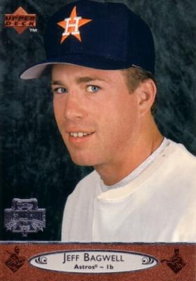 Jeff Bagwell 1996 Upper Deck All-Star Game jumbo card