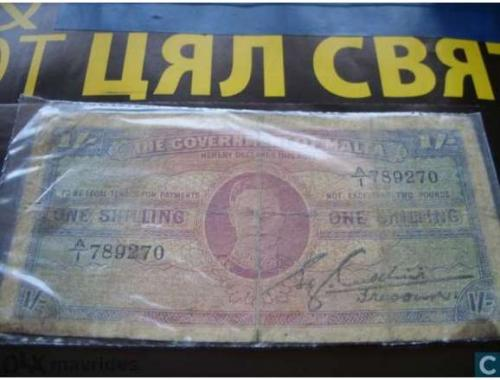 Malta-1 / shilling-1940/43 г