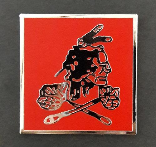 US Navy SEAL Team 6 six - DEVGRU - Red Squadron Metal badge pin