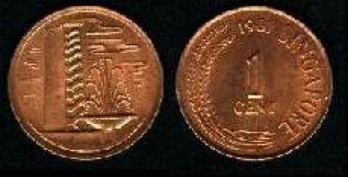 1 cent 1976-1985 (km 1a)