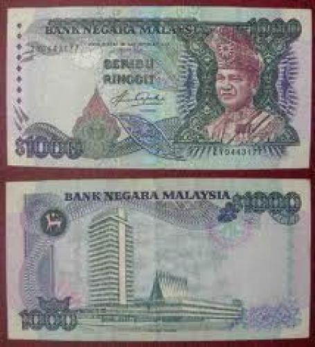 Banknotes; 1000 dollar/Ringgit; Banknotes;