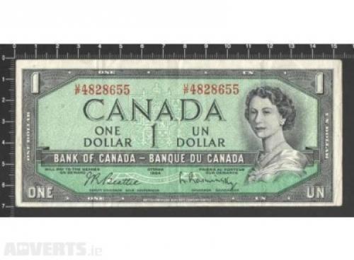 Canada 1 dollar-1954
