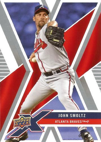 2008 Upper Deck X #6 ~ John Smoltz