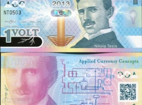 Nikola Tesla 1 Volt