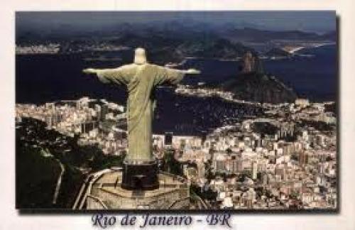BRAZIL ~ Rio de Janeiro Christ Statue. Brazil Rio de Janeiro Christ Statue