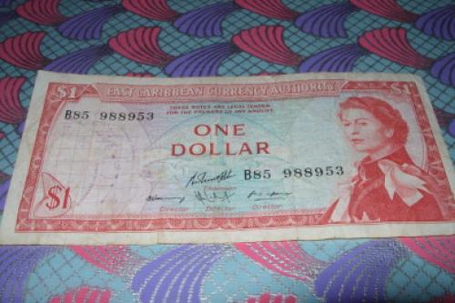 East Caribbean 1 dolar-1965