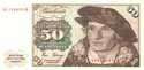 Germany,  Federal   Republic; 50 Deutsche Mark; Issue of 1980