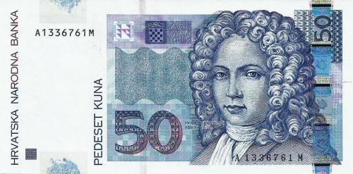 Croatia 50 kuna 2002/03/07