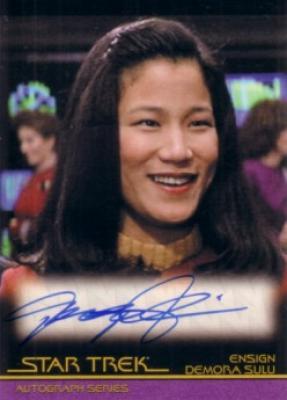 Jacqueline Kim certified autograph Star Trek card