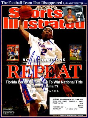 Corey Brewer autographed Florida 2007 National Championship Sports Illustrated