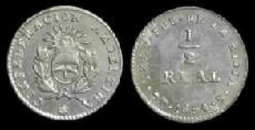 0,5 real 1854-1860 (km 25)