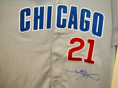 Sammy Sosa autographed Chicago Cubs authentic game jersey