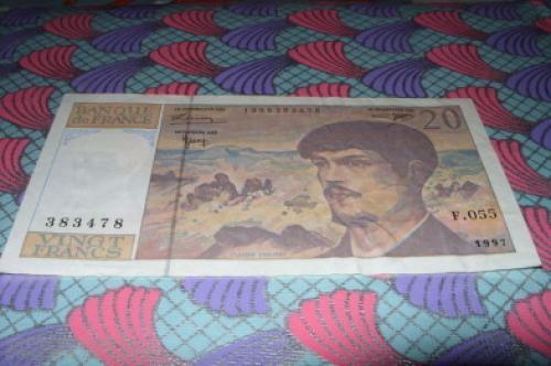 France 20 Francs 1997