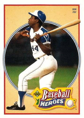 1991 Upper Deck Aaron Heroes #23 ~ Hank Aaron