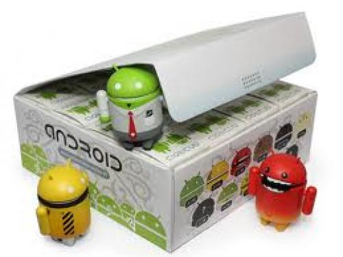 Android Robot Toys; Assorted colors