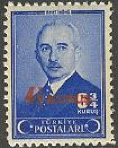 Overprint 1v; Year: 1945