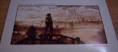 Avatar Legend of Korra 2010 Comic-Con Nickelodeon promo poster