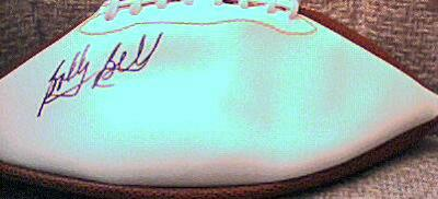 Bobby Bell (Chiefs) autographed full size white panel football