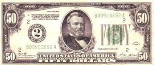 US Banknote: $50.00 Federal Reserve Note, 1928B Series