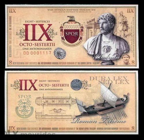 Roman Empire 1 Sesterces, UNC