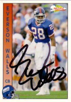 ae7fce91e Coollectors - Collectible Item - Autographs - Everson Walls ...