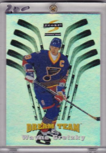1998 SCORE DREAM TEAM INSERT WAYNE GRETZKY TOUGH TO FIND