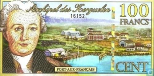 Archipel der Kerguelen 100 Francs-2010