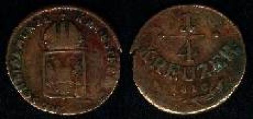 0,25 kreuzer 1816 (km 2107)