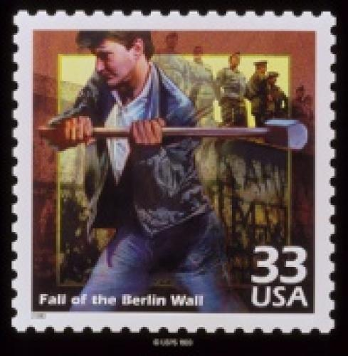 Fall of the Berlin Wall Stamp