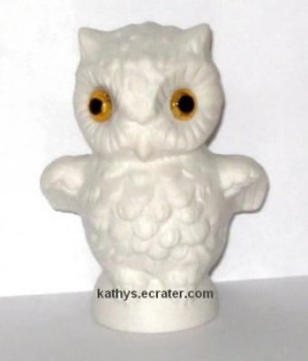 Goebel West Germany 38-305 White Owl Bird Figurine