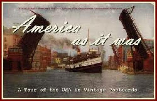 Postcards; Tour of USA in Vintage Postcards