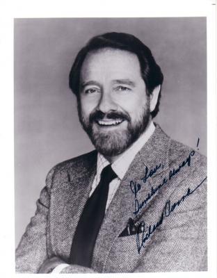 Richard Crenna autographed 8x10 photo (To Lou)