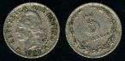 5 Centavos; 1896-1942; (km 34); Copper-Nickel; LIBRTAD