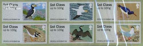 Birds of Britain IV 6v s-a