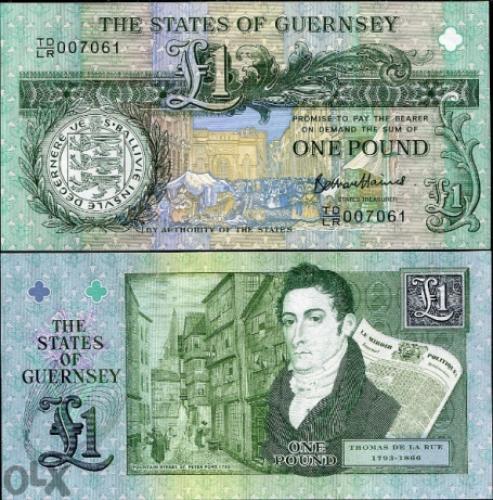 Guernsey 1 Pound 2013 Unc